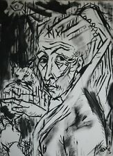 More details for roger latimer ashby - 1942-1998 - cubist portrait of a lady - picasso
