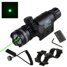 Tactical Red Green Dot Laser Sight Rail Barrel Mount Remote Switch for Rifle Gun