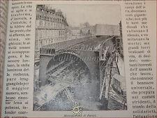 GIOVINEZZA Antica Rivista Illus. 1909 n.21 Treni METROPOLITANA TERREMOTO Messina