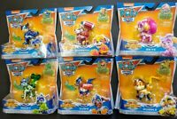 6 NEW Paw Patrol Mighty Pups Super Paws Pup Pack Skye Marshall Chase Rocky Zuma