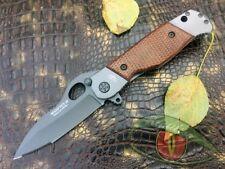"Russian Tactical Folding knife ""Mangust-N"" Mongoose NOKS knives (440 steel)"