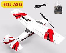SELL AS IS Mini Trainstar 2.4G RC Super Cub 3CH Gyro Airplane  Piper J-3 Used