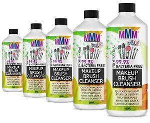 MMM MAKEUP BRUSH QUICK DRY CLEANER / STERILIZING LIQUID UK SELLER