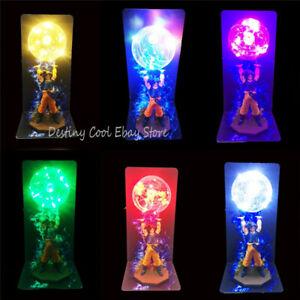 New Dragon Ball Z Goku LED Night Light Lamp Figure Model Toy Desk Decor With Box