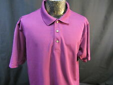 Grand Slam GOLF polo shirt purple dry wick sz XL sports casual summer dress