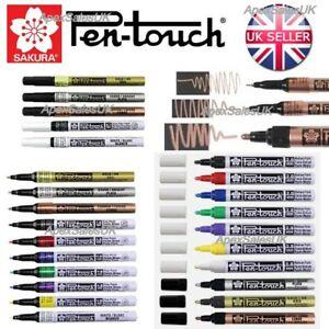 Sakura Pen Touch Paint Marker Pen for Art Plastic Wood Metal 3 Sizes  UK SELLER