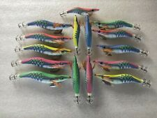 20pcs3.5# squid jig,fishing lure,random  colour mixed, glow in dark ,13.5cm  20g