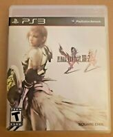Final Fantasy XIII-2 - Sony PlayStation 3 PS3 - NICE & COMPLETE w/ Manual!