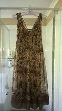 Basque Dress Size 8 EUC