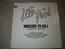 LITA FORD--DRESSED TO KILL--EXTENDED PLAY--VINYL ALBUM