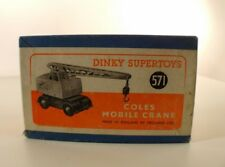 Boite seule Dinky Toys GB n° 571 Coles mobile crane Box only