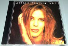 Kylie Minogue: Kylie's Remixes Volume 2 (CD, 1993, Mushroom) Distronics Press