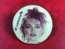 Pin Badge Soviet Underground Old Vintage Button MADONNA USSR RUSSIA RARE !!