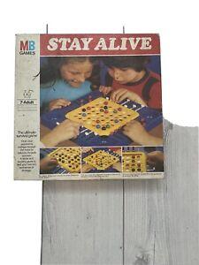 Vintage MB Games Stay Alive Board Game 1975
