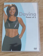 DAVINA MCCALL - THE POWER OF 3 - EXERCISE & FITNESS DVD - REGION 2 PAL UK