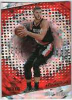 2017-18 Panini Revolution Basketball Fractal Parallel #54 Jusuf Nurkic Blazers