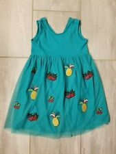 NWT Hanna Andersson Girl's Tulle Dress Fruit Green