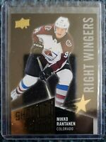 2018-19 Upper Deck SHOOTING STARS BLACK PARALLEL Mikko Rantanen Avalanche #SSR-5