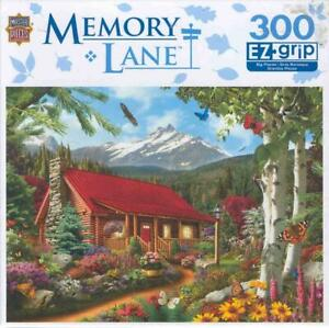 Alan Giana MasterPieces 300 Pc Jigsaw Puzzle Mountain Hideaway Complete