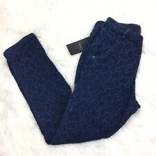 Maison Scotch Size Small Skinny Jeans Leopard Print Animal Petite $149 New