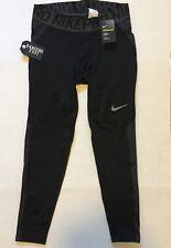 Nike Pro HyperWarm Full Length Compression Warm Tights 838016-010 Size XL