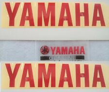 Yamaha GENUINE Fairing RED Belly Pan Stickers Decals 200 x 46mm R6 R1 YZF R3