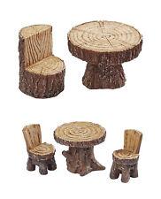 Figura Decorativa Resina Hobbyfun Mesa Minigarten Mesa,Silla Grupo de Asientos