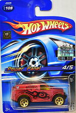 HOT WHEELS 2006 WWE POWER PANEL #109 RED FACTORY SEALED