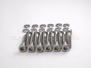 Stainless Steel Fuel Injector Socket Cap Bolts for Datsun 240z 260z 280z 280zx