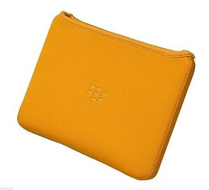Genuine Blackberry Playbook Neoprene Sleeve Case (Orange)