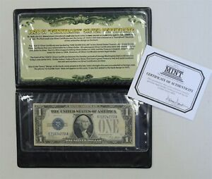 1928-A $1 *Funny Back* Small Silver Certificate *Free S/H After 1st Item*