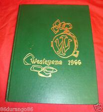 ILLINOIS WESLEYAN UNIVERSITY 1966 YEARBOOK BLOOMINGTON ILLINOIS