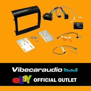 CTKFT14 - Fiat Ducato 2015> Double Din Stereo Fascia Complete Fitting Kit