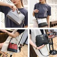 Shell Shoulder Handbag Women Sequin Lady PU Leather Crossbody Messenger Bag Gift