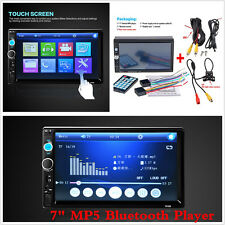 "7"" Car SUV Radio Bluetooth Stereo HD Touch MP5 Player FM MP3/MP4 Hands-free Call"