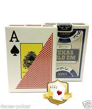Poker Ruiten 100% Plastikkarten Pokerkarten Karten Set Spielkarten 2x Deck Karte
