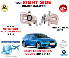 FOR SEAT LEON SC 5F5 COUPE 2013>on REAR RIGHT HAND SIDE BRAKE CALIPER OE QUALITY