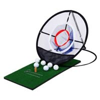 Portable Pop-up Golf Chipping Net Pitching Indoor Outdoor Practice Training Aid