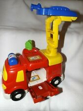 VTECH TOOT TOOT DRIVERS BIG FIRE ENGINE FOLD OUT LADDERS INTERACTIVE ACTIVITY