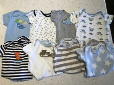 Gerber Carter Onesies,Baby Boy 0-3 6-9 Months, Lot of 8, Excellent Condition