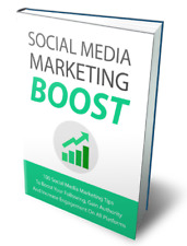 Social Media Marketing Boost + Bonus pdf ebook with master resell rights