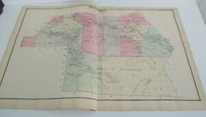 1875 Beers Map, SHANDAKEN, Ulster County, NY, Phoenicia, Chichester, Pine Hill +