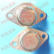1 Pares De Transistores Toshiba TO-3 2SB557/2SD427 B557/D427 100% Genuino Original