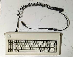 Working! IBM Model F, PC XT 83 key Computer Keyboard W/ Soarers USB Converter