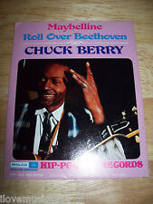 "RARE Chuck Berry NEW MINT 4"" Hip Pocket vinyl Maybelline/Roll Over Beethoven SS"