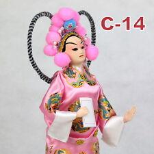 C-14 China Peking Oper chinesisch Puppe Figur Seide 31 cm Neu Geschenkidee OVP