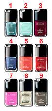 Cover per iPhone 6 e 6s Smalto con Nome Personalizzato , scegli il colore