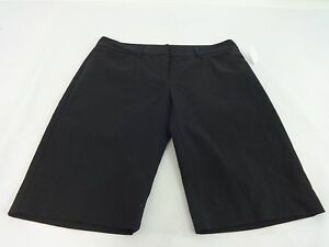 DAISY FUENTES WOMENS BLACK POLYESTER BLEND SHORTS SIZE 2 SUPER CUTE