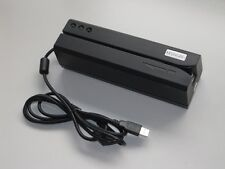 MSR606 Magnetic Stripe Card Reader Writer Encoder Hi&Lo Co Track 1, 2 & 3 MSR206