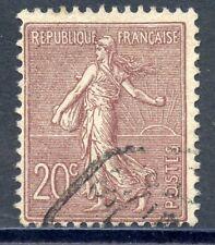TIMBRE FRANCE OBLITIERE TYPE SEMEUSE N° 131 / Photo non contractuelle
